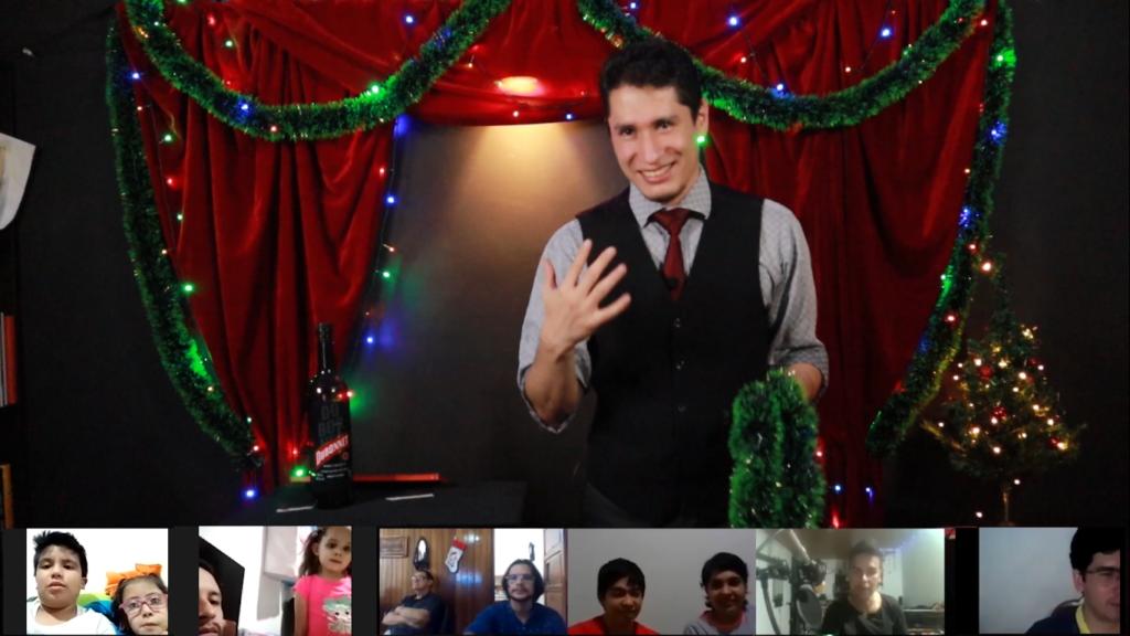 evento virtual de magia